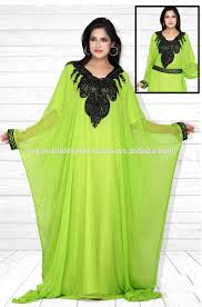 2015 indian factory wholesale butterfly royal green abaya