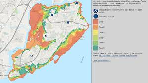 New York Borough Map by Know Your Flood Zone Maps Show Evacuation Centers Elevation