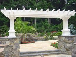 stone landscaping ideas design sloped front yard landscape