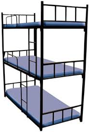 3 Tier Bunk Bed 3 Tier Bunk Bed In Mumbai Maharashtra Oliver Metal Furniture