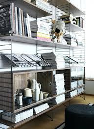 etagere bureau design design d intérieur string etagere atagare murale composable system