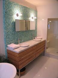 bathroom mid century modern bathroom vanity led light with
