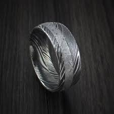 damascus steel wedding band damascus steel page 4 revolution jewelry