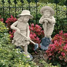 garden ornaments that will create and whimsical landscape