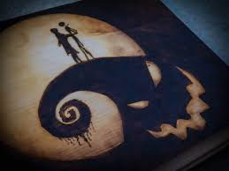 my nightmare before pyrography pyrography wood