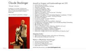 K Henkatalog Stockinger Art U2013 Werkschau Katalog Titelseite Und Einführungstext