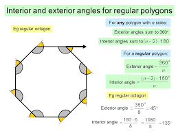 Interior Angle Sum Of A Decagon Find The Measure Of Each Exterior Angle Of A Regular Octagon