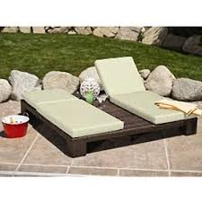 Chaise Lawn Chair Chaise Lounge Patio Furniture Double Set 2 Person Lounger Lawn