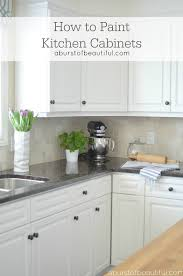 Photos Of Painted Kitchen Cabinets by To Paint Kitchen Cabinets A Burst Of Beautiful