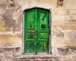 Tuscan Door Photograph Italy Photography by Old Door Photo Modica Sicily Textured Door Colorful Door