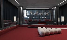 lounge billiard room restaurant kapran design
