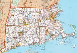 Massachusetts State Map by Hognews Com State Pages Massachusetts