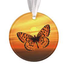 butterfly ornaments keepsake ornaments zazzle