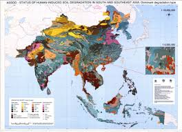 Map Of East And Southeast Asia by The Soil Maps Of Asia Display Maps