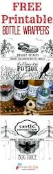 halloween wine bottle labels 805 best ideas halloween images on pinterest halloween stuff