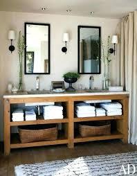 Bathroom Open Shelving Open Shelves In Bathroom Simpletask Club