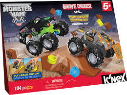 grave digger spirit halloween k u0027nex monster jam grave digger vs maximum destruction building