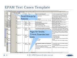 Testing Template Excel Testing Artifacts Test Cases