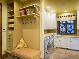 mudroom layout options and ideas hgtv clean and clutter free laundry room