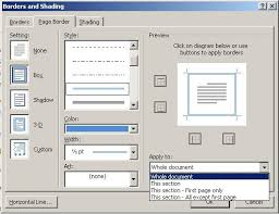 understand how section breaks control formatting in word