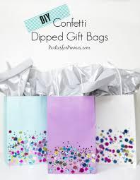 present bags home confetti dip confetti and bag