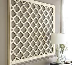 lattice panel wall pottery barn
