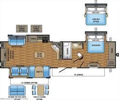 Jayco Eagle 5th Wheel Floor Plans by J11135 2017 Jayco Eagle 338rets Rear Entertainment Triple