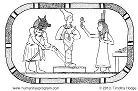ancient egypt coloring pages kids egyptian gods coloring 48428