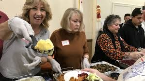 volunteers avert mashed potato famine at fairgrounds thanksgiving