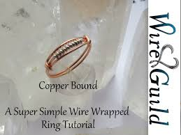 metal wire rings images Super simple wire wrap ring tutorial copper bound by wire guild jpg