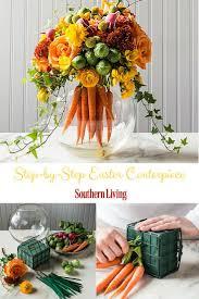 easter centerpiece easter centerpiece floral arrangement carrots and centerpieces