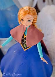 frozen princess cake anna ashlee marie