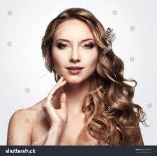 hair style in long hair beauty beautiful woman long wavy stock photo 346188806