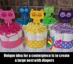 owl themed baby items owl centerpieces but in browns or blues for a baby boy idea s