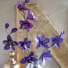 origami orchid tutorial metallic paper dendrobium orchids paperpapers blog