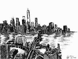 new york skyline drawings page 4 of 4 fine art america