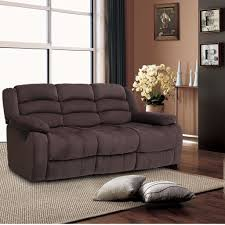 Living Room Chair Height 3pcs Manual Sofa Loveseat Recliner Elevating Footrest Living