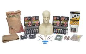 custom halloween mask makers the monster makers complete latex halloween mask making kits 216