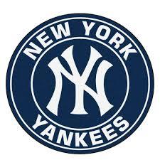 york yankees logo roundel mat 27