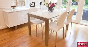 White Gloss Extendable Dining Table Coffee Table Dining Room Good Looking White Dining Room Design