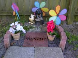 Dog Burial Backyard Our Homemade Headstone For My Dear Sweet Buddy Just A Paver