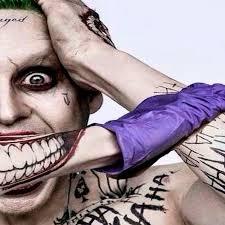 squad joker costume tattoo kit makeup dc comics halloween