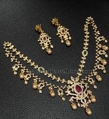 1 gram gold style necklaces jewellery designs