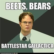 Dwight Meme - wisdom of dwight shrute the three b s i can has cheezburger
