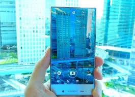 hands on sharp u0027s sprint bound aquos crystal phone and its barely