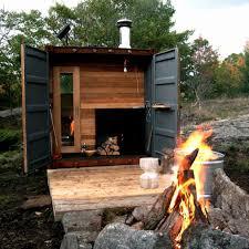 luxury design for sauna room in modern bathroom decorating ideas