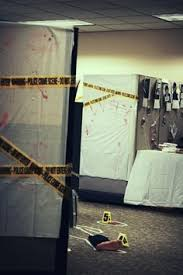 Halloween Office Decoration Theme Ideas Severed Finger Evidence Bag Csi Scary Gory Halloween Invitations