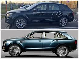 bentley rear bentley bentayga spied in production ready form shows design