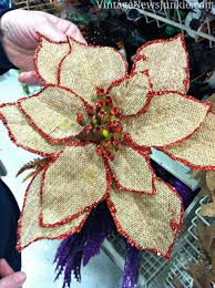 how to make a burlap flower with glitter tutorial flower