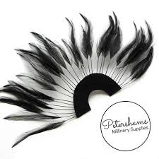 extra large feather fans feathers petershams millinery supplies